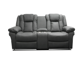 BOSCO 2.5 SEATER RECLINER WITH DRINK CONSOLE