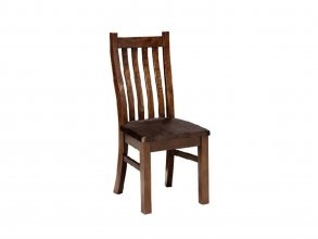 BUSHLAND CHAIR WITH SOLID SEAT