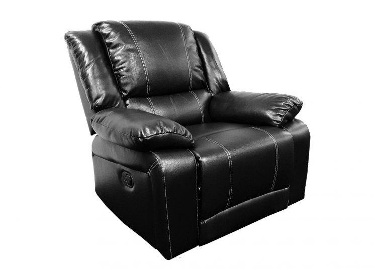 Cali Single Seater Recliner Black