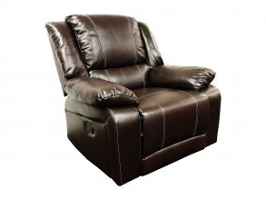 Cali Single Seater Recliner Brown