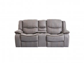 Chertsey 2 Seater Recliner Grey