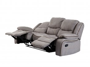 Chertsey 3 Seater Recliner Grey