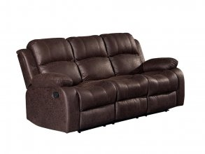 CHRISTCHURCH 3 SEATER RECLINER, BROWN