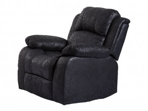 CHRISTCHURCH SINGLE SEATER RECLINER, BLACK