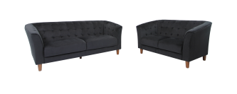 CLAIR LOUNGE SUITE, BLACK