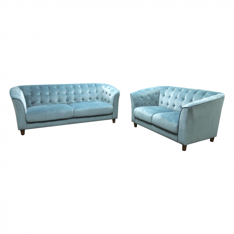CLAIR LOUNGE SUITE, CYAN