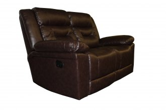 Clayton 2 Seater Recliner Brown