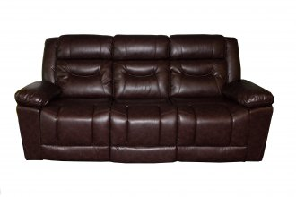 Clayton 3 Seater Recliner Brown