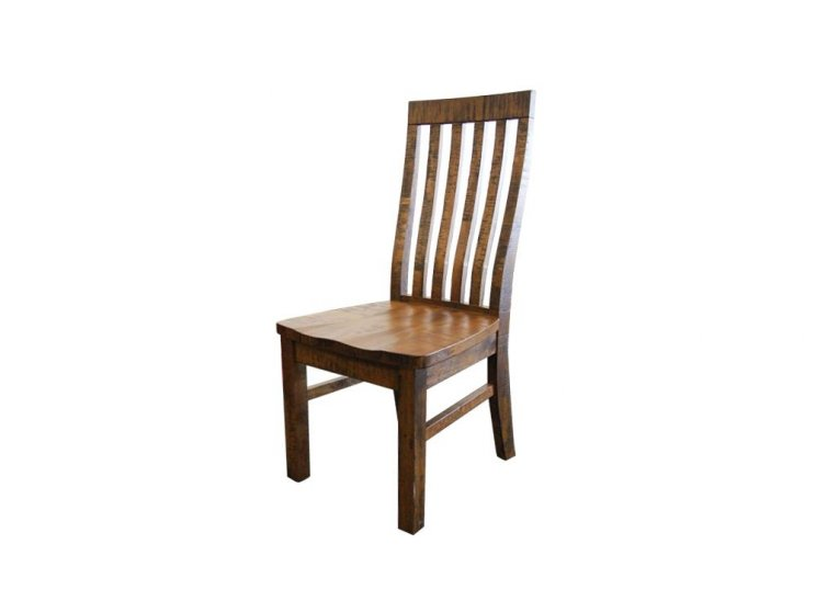 Country Wooden Seat Chair