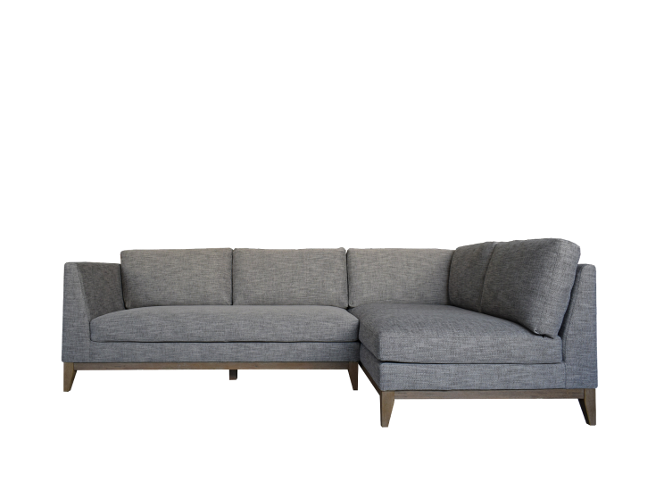 DALTON 3 SEATER WITH CHAISE, CHARCOAL