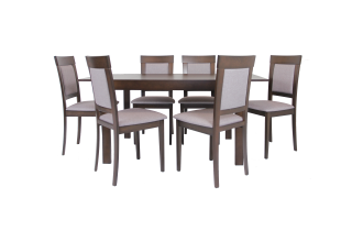 DAVE 7 PIECE DINING SUITE