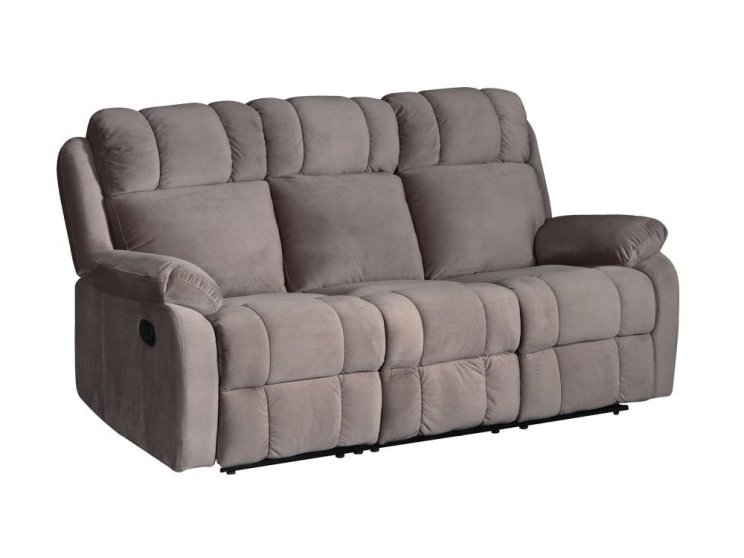 Cambridge 3 Seater Recliner Smoke