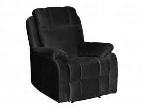 Cambridge Single Seater Recliner Black