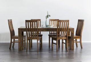 COUNTRY 7 PIECE DINING SUITE