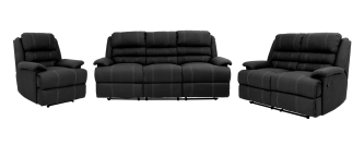 OLIVIA 3 PIECE RECLINER SUITE