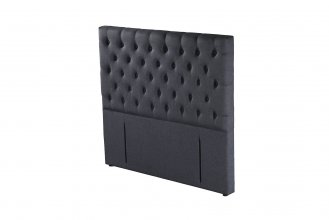 Epsom Headboard Super King Black
