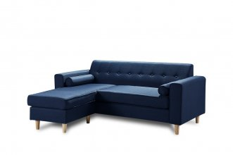 Essex 2 Seater With Chaise Blue