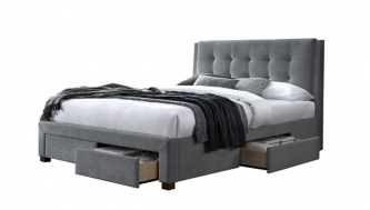 ARIANA SUPER KING BED FRAME WITH 4 DRAWERS