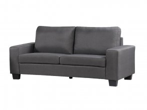 Fantastic 3 Seater Sofa Dark Grey