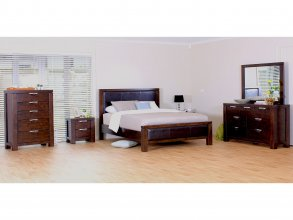 Haliton 6 Piece Queen Bedroom Suite