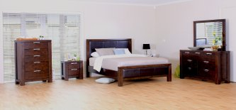 Haliton 6 Piece Super King Bedroom Suite