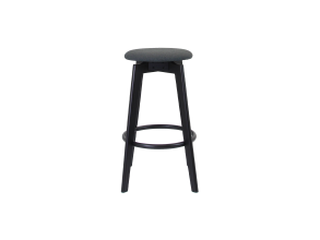 JADE BARSTOOL WITH BLACK FRAME