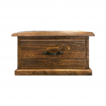 JAMAICA LAMP TABLE, RUSTIC