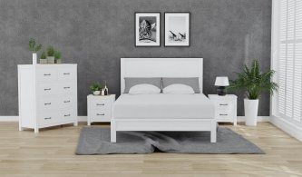 JASMINE 4 PIECE QUEEN BEDROOM SUITE