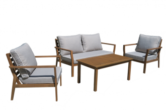 JONAS 4 PIECE OUTDOOR LOUNGE SETTING