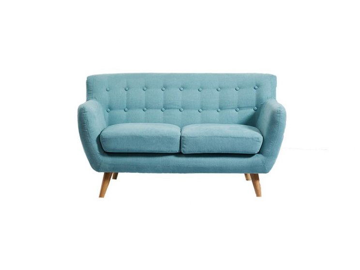 Mika 2 Seater Sofa Tiffany Blue