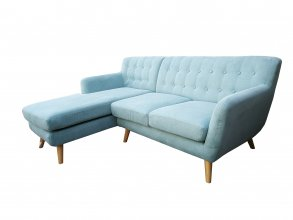 Mika 2 Seater With Chaise Apricot