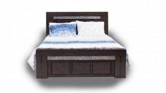 TORRIN QUEEN BED FRAME, GREY