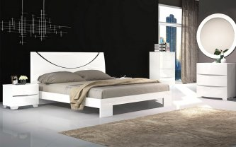 Nolan 6PCS King Bedroom Package 1Xkb+2Xbs+1Xtb+1Xdt+1Xdm
