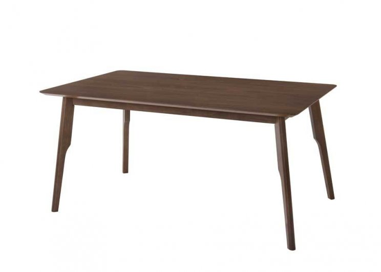 Pure Fixed Top Table Walnut