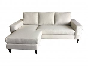 Rebecca 3.5 Seater With Reversible Chaise Gold Fabric