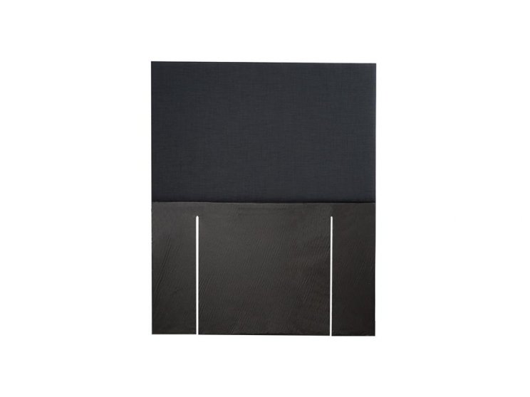Sleepwell Single Fullboard Headboard Black