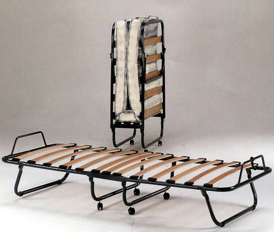 SOLO FOLDING BED WITH MATTRESS