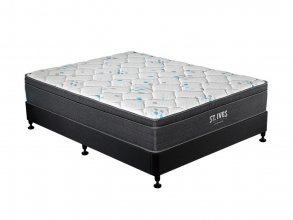 ST.IVES SUPER KING MATTRESS AND NZ BRAND BASE