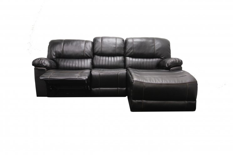 SUNBURY 2 SEATER SINGLE RECLINER WITH CHAISE