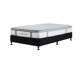 UNWIND SLEEP KING SINGLE MATTRESS AND BASE