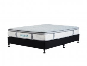 UNWIND SLEEP QUEEN MATTRESS AND BASE